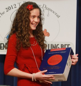 Hosford's Ann Marie Brown wins Big Bend Spelling Bee…again!