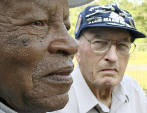 At age 90 & 91, these two veterans have a few stories to tell about their wartime experiences