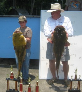 Bristol 12-year-old wins Wewa Fishing Tournament with 35.03 flathead