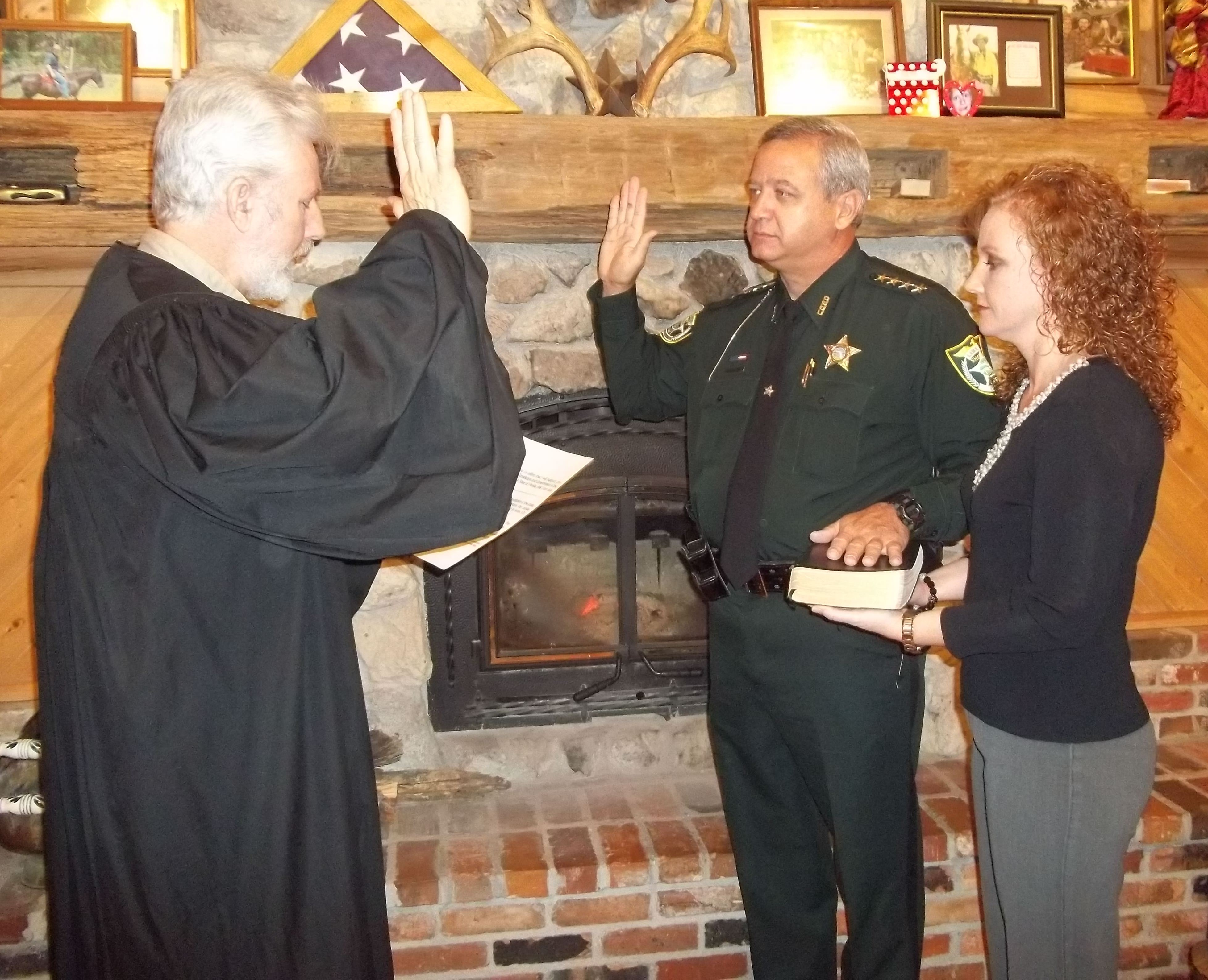 Nick Finch sworn in as Liberty County Sheriff