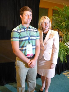 Local Sunshine State Scholars attend Orlando event