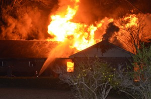 Fire destroys Bristol home Monday