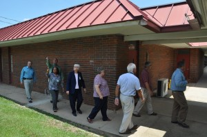 DOE officials make site visit and agree  Liberty County needs a new high school