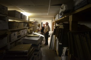 Liberty Clerk ask for help saving documents packed in basement