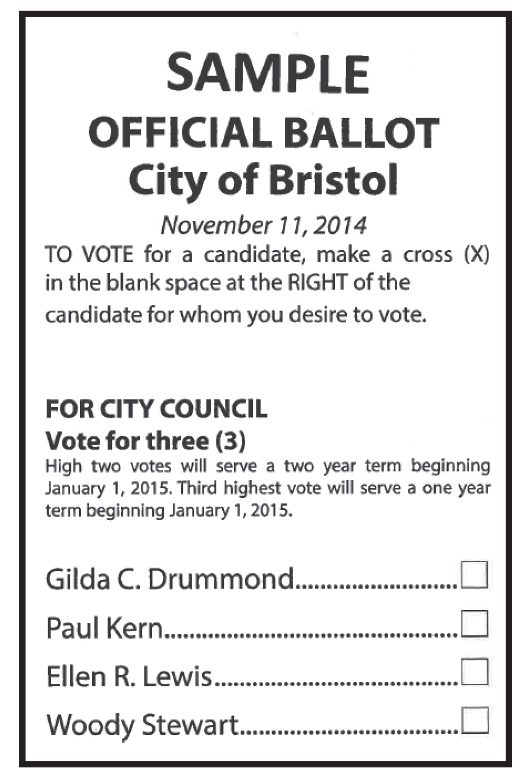 Officer ballot template just b cause for Election ballots template