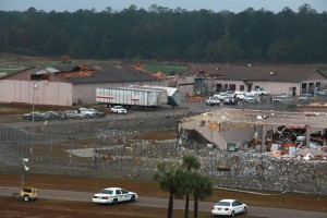 Tornado hits Calhoun Correctional, touches down in Rock Bluff and ends 22-mile path in Gadsden County