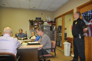 Council members air issues in contentious meeting Thursday