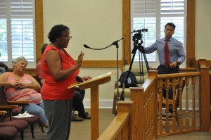 Citizens debate racial comment made by county commissioner: Commissioner's recorded comments discussed at Thursday board meeting